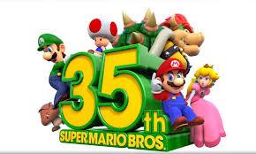Mario Bros cumple 35 años! Y Nintendo lo celebra en grande