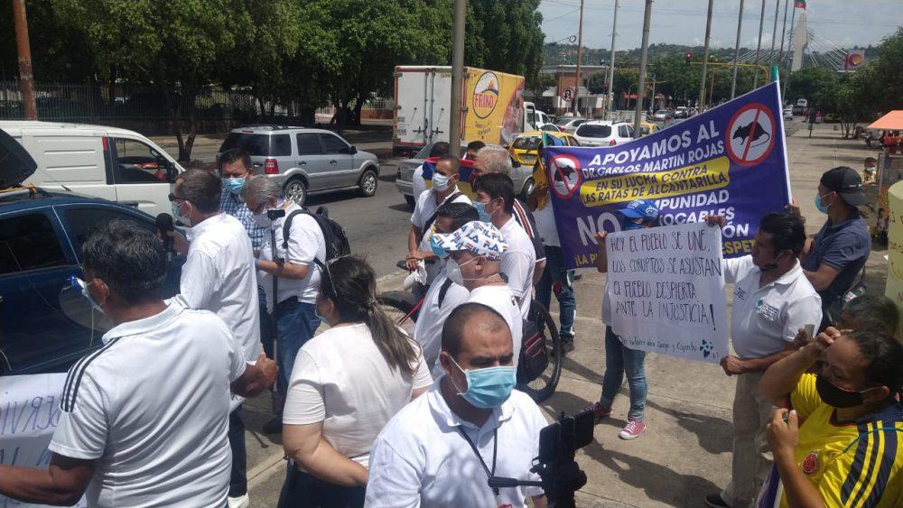 Arrancó la Marcha Por la Dignidad de los Cucuteños - Noticias de Colombia