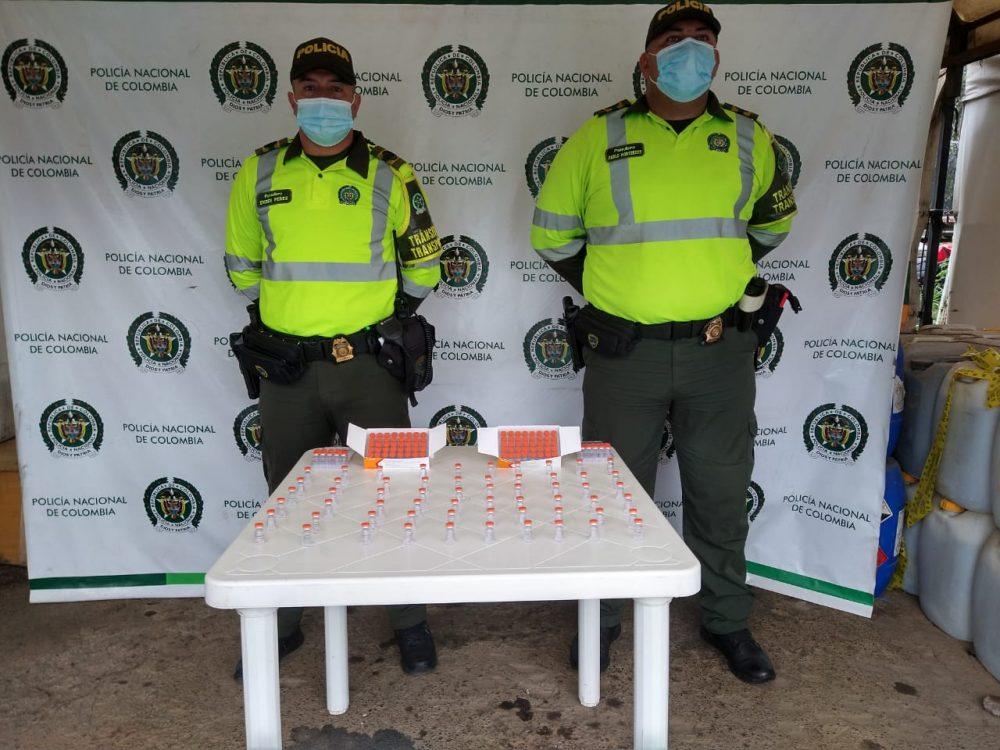 Incautadas 160 vacunas Covid19 en el Peaje los Acacios - Noticias de Colombia